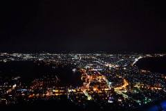 HAKODATE AT NIGHT