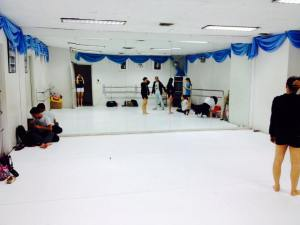 Feeling Nostalgic at the CCP dance studio. This was one of the first dance studios that I ever danced in when I was 4 years old.