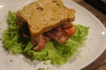 Bacon Lettuce and Tomato,  Php 145